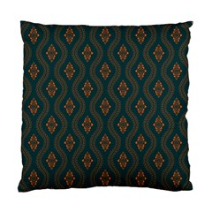Ornamental Pattern Background Standard Cushion Case (two Sides)