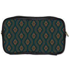 Ornamental Pattern Background Toiletries Bags