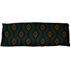 Ornamental Pattern Background Body Pillow Case (dakimakura)