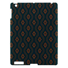 Ornamental Pattern Background Apple Ipad 3/4 Hardshell Case