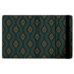 Ornamental Pattern Background Apple Ipad 3/4 Flip Case