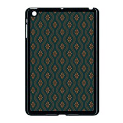 Ornamental Pattern Background Apple Ipad Mini Case (black) by TastefulDesigns