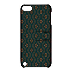 Ornamental Pattern Background Apple Ipod Touch 5 Hardshell Case With Stand by TastefulDesigns