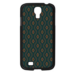 Ornamental Pattern Background Samsung Galaxy S4 I9500/ I9505 Case (black)