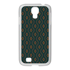 Ornamental Pattern Background Samsung Galaxy S4 I9500/ I9505 Case (white)