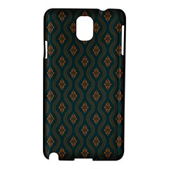 Ornamental Pattern Background Samsung Galaxy Note 3 N9005 Hardshell Case