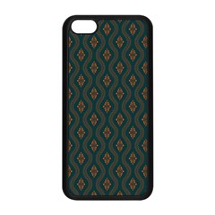 Ornamental Pattern Background Apple Iphone 5c Seamless Case (black) by TastefulDesigns