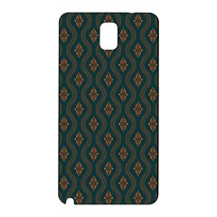 Ornamental Pattern Background Samsung Galaxy Note 3 N9005 Hardshell Back Case