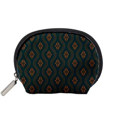 Ornamental Pattern Background Accessory Pouches (small)