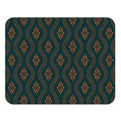 Ornamental Pattern Background Double Sided Flano Blanket (large)