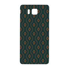 Ornamental Pattern Background Samsung Galaxy Alpha Hardshell Back Case