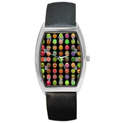 Beetles Insects Bugs Barrel Style Metal Watch by BangZart