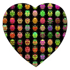 Beetles Insects Bugs Jigsaw Puzzle (heart)