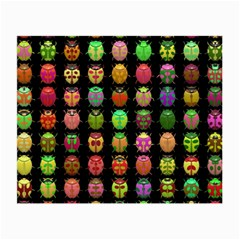 Beetles Insects Bugs Small Glasses Cloth (2 Side) by BangZart