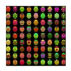 Beetles Insects Bugs Face Towel