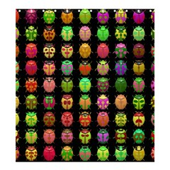 Beetles Insects Bugs Shower Curtain 66  X 72  (large)  by BangZart
