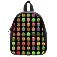 Beetles Insects Bugs School Bags (small)  by BangZart
