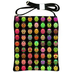 Beetles Insects Bugs Shoulder Sling Bags by BangZart