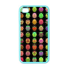 Beetles Insects Bugs Apple Iphone 4 Case (color) by BangZart