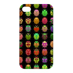 Beetles Insects Bugs Apple Iphone 4/4s Premium Hardshell Case by BangZart