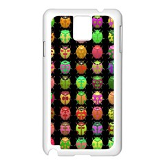Beetles Insects Bugs Samsung Galaxy Note 3 N9005 Case (white) by BangZart
