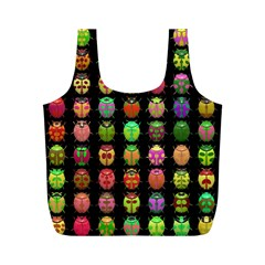 Beetles Insects Bugs Full Print Recycle Bags (m)