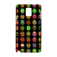 Beetles Insects Bugs Samsung Galaxy Note 4 Hardshell Case by BangZart