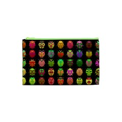 Beetles Insects Bugs Cosmetic Bag (xs) by BangZart