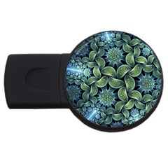 Blue Lotus Usb Flash Drive Round (2 Gb) by BangZart