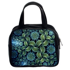 Blue Lotus Classic Handbags (2 Sides)