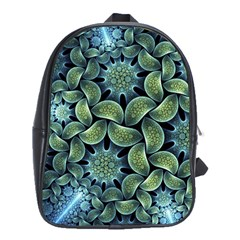 Blue Lotus School Bags(large)  by BangZart