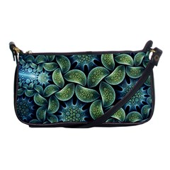 Blue Lotus Shoulder Clutch Bags
