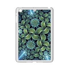 Blue Lotus Ipad Mini 2 Enamel Coated Cases by BangZart