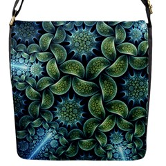 Blue Lotus Flap Messenger Bag (s) by BangZart