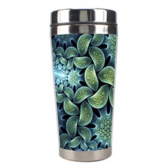 Blue Lotus Stainless Steel Travel Tumblers by BangZart