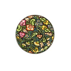 Bohemia Floral Pattern Hat Clip Ball Marker (10 Pack)