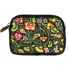 Bohemia Floral Pattern Digital Camera Cases by BangZart