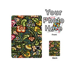 Bohemia Floral Pattern Playing Cards 54 (mini)