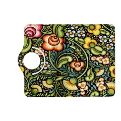 Bohemia Floral Pattern Kindle Fire Hd (2013) Flip 360 Case by BangZart