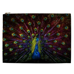 Beautiful Peacock Feather Cosmetic Bag (xxl)  by BangZart