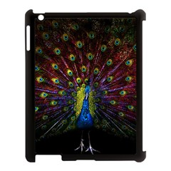 Beautiful Peacock Feather Apple Ipad 3/4 Case (black) by BangZart