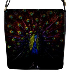 Beautiful Peacock Feather Flap Messenger Bag (s) by BangZart