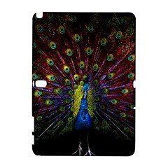 Beautiful Peacock Feather Galaxy Note 1 by BangZart