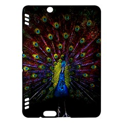 Beautiful Peacock Feather Kindle Fire Hdx Hardshell Case by BangZart