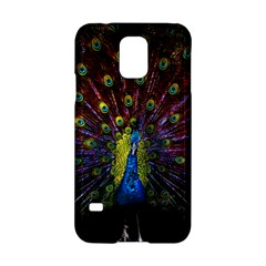 Beautiful Peacock Feather Samsung Galaxy S5 Hardshell Case  by BangZart