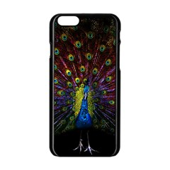 Beautiful Peacock Feather Apple Iphone 6/6s Black Enamel Case by BangZart