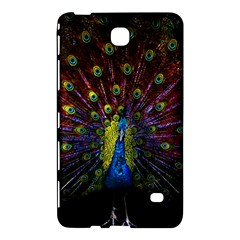 Beautiful Peacock Feather Samsung Galaxy Tab 4 (7 ) Hardshell Case  by BangZart