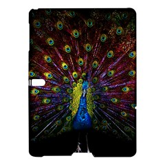 Beautiful Peacock Feather Samsung Galaxy Tab S (10 5 ) Hardshell Case  by BangZart