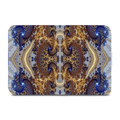 Baroque Fractal Pattern Plate Mats by BangZart