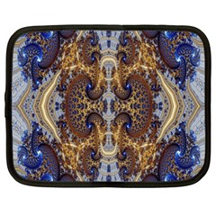 Baroque Fractal Pattern Netbook Case (xxl)  by BangZart